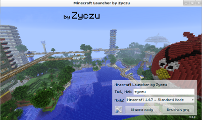 Minecraft Launcher by Zyczu